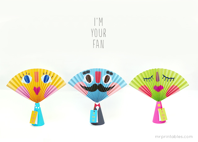 summer crafts paper fan