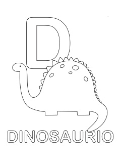 spanish alphabet coloring page d
