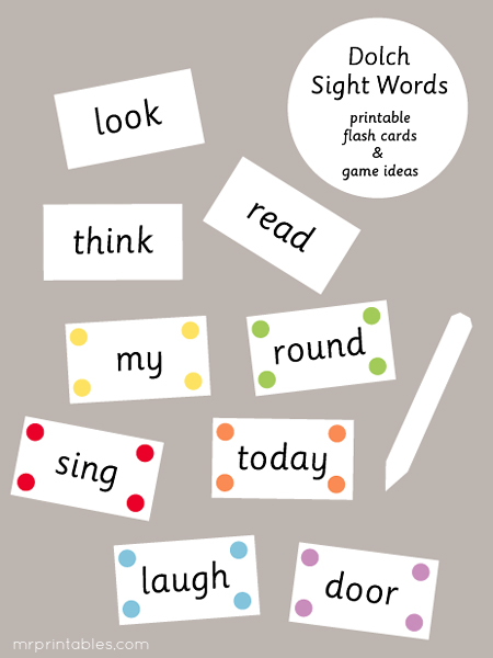 free printable worksheets printable sight worksheets words dolch free words sight dolch