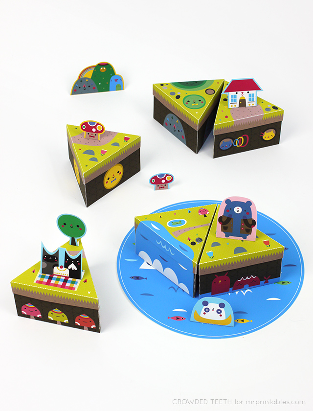 Paper Island by Crowded Teeth for Mr Printables