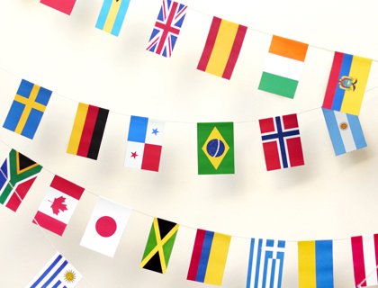 printable world flag