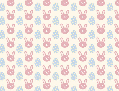 bunny printable scrapbook paper