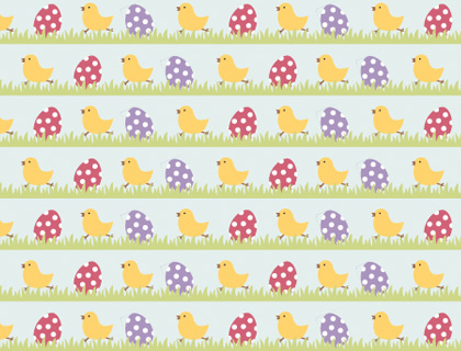 easter eggs printable scrapbook paper