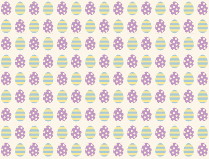 Easter eggs scrapbook paper