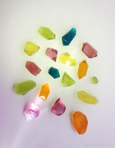 DIY Glycerine Soap Gem Stones