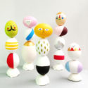 Easter Eggs Mix & Match Sculptures