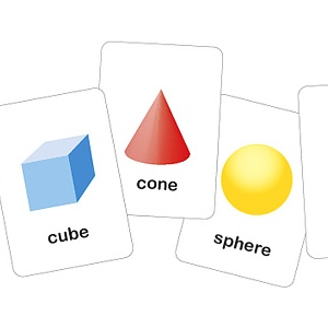 3d Printable Shapes Flash Cards