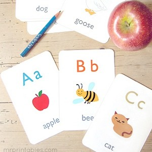 Printable Alphabets & Words Learning Activities