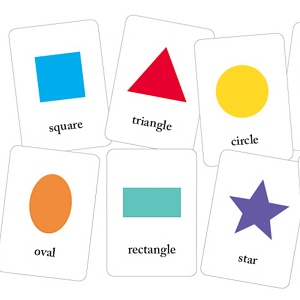 Basic Shapes Flash Cards