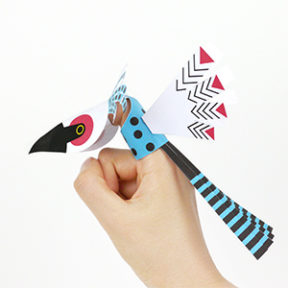 Bird Finger Puppets
