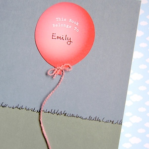 Balloon Bookplates