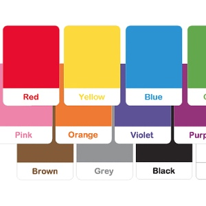 picture regarding Printable Colors named Master Shades with Entertaining Colourful Routines - Mr Printables