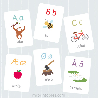 photo about Free Printable Abc Flash Cards called No cost Printable Flash Playing cards - Mr Printables