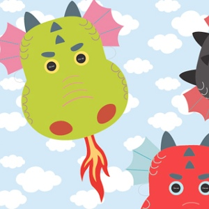 printable dragon masks - Printable Kids