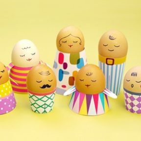 Egg People Easter Crafts
