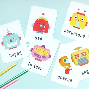 Emotion Flash Cards