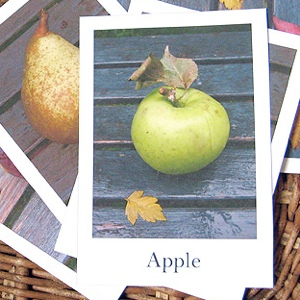 Fruit & Vegetables Flash Cards