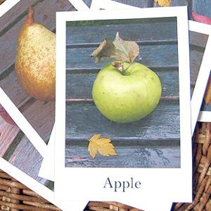 Fruit amp Vegetables Flash Cards