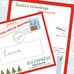 Dear santa letter mr printables letter from santa spiritdancerdesigns Images