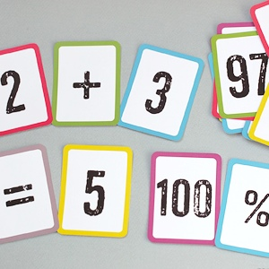 Free Printable Math Flash Cards