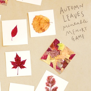 Autumn Memory Game