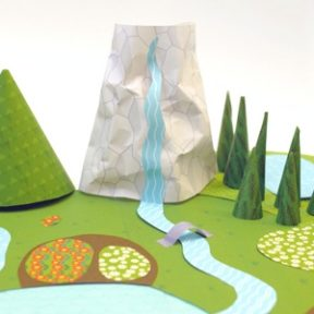 My Paper World – Wild Green