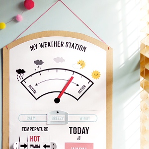 My Weather Station Mr Printables