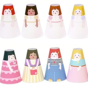 Printable Paper Dolls | Cone Girls