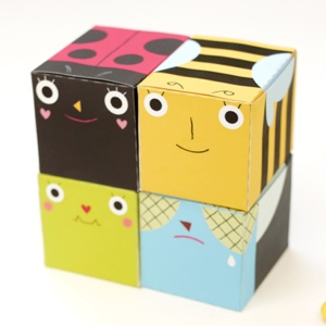 Bug party favor boxes