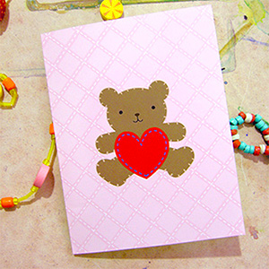 Teddy Bear Valentine Cards