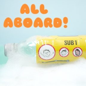 Plastic Bottle Submarine