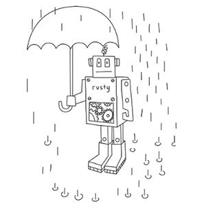 robot coloring pages - Activity Coloring Sheets