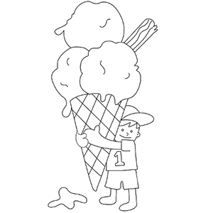Summer coloring pages mr printables for Summer pictures for kids to colour