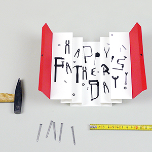 Happy Father's Day Tool Box Card