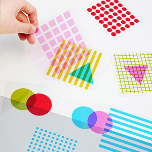 Shapes & Colors Overlay Play Cards