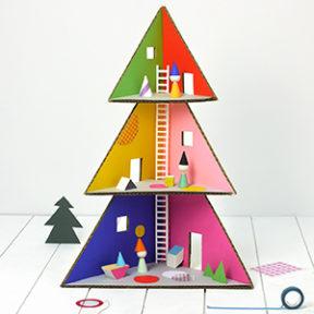 Christmas Tree Doll House