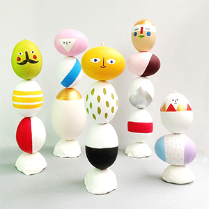 On our blog | Easter Egg Sculpture