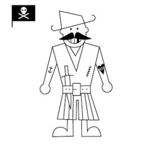 Pirates Coloring Pages