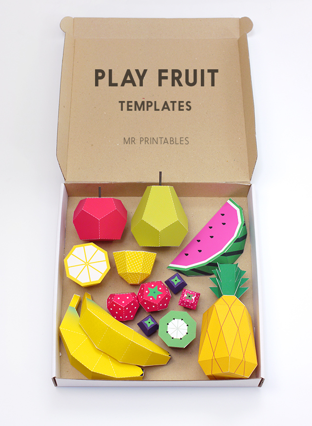 play fruit templates