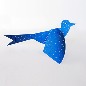 Flapping Bird Paper Toy