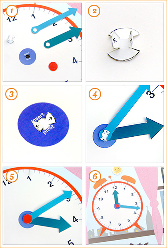 photo relating to Printable Clock Hands referred to as What Period Is It? History Folder Activity - Mr Printables