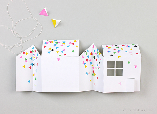picture about House From Up Printable called Pop-Up Space Bash Invitation - Mr Printables