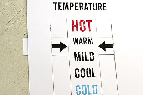 Temperature Slider