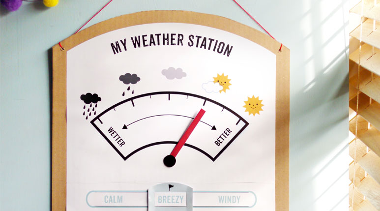 my weather station - Printable Kids Activities