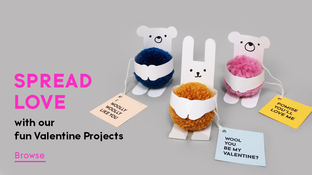 Spread love with our fun valentine projects for kids