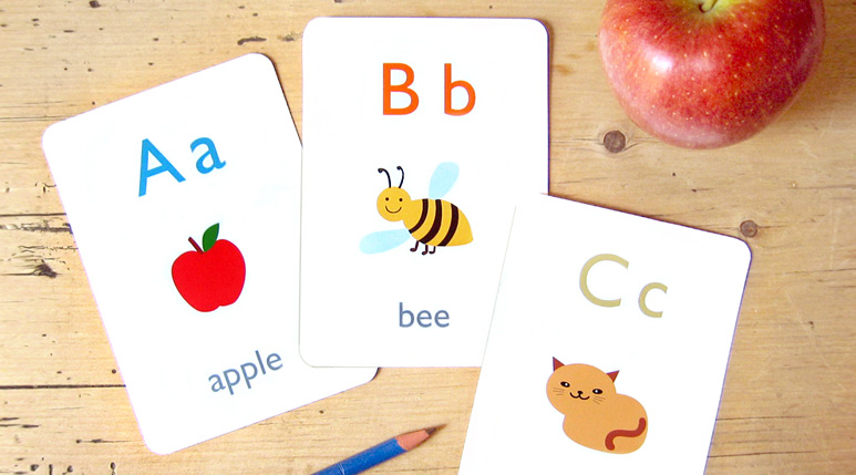 image about Abc Flash Cards Free Printable identify Cost-free Printable Flash Playing cards - Mr Printables
