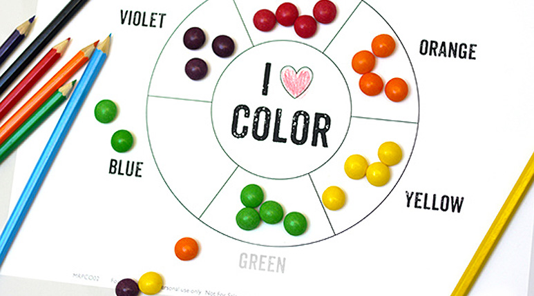 image relating to Printable Colors named Master Hues with Enjoyable Colourful Functions - Mr Printables