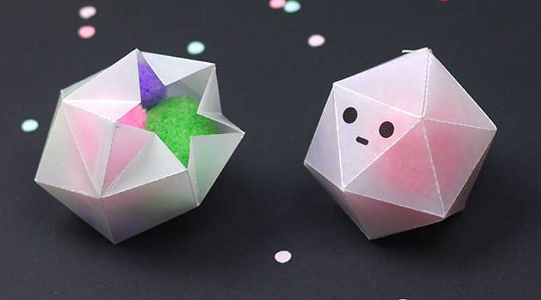 Little Ghost Party Favor Boxes